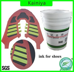 water based soft thick silk screen printing ink for shoes