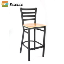 Hot new products metal chair frames solid wood seat cushions for wedding