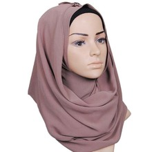 TOROS Wholesale 78Colours Available Plain Chiffon Hijab Scarf
