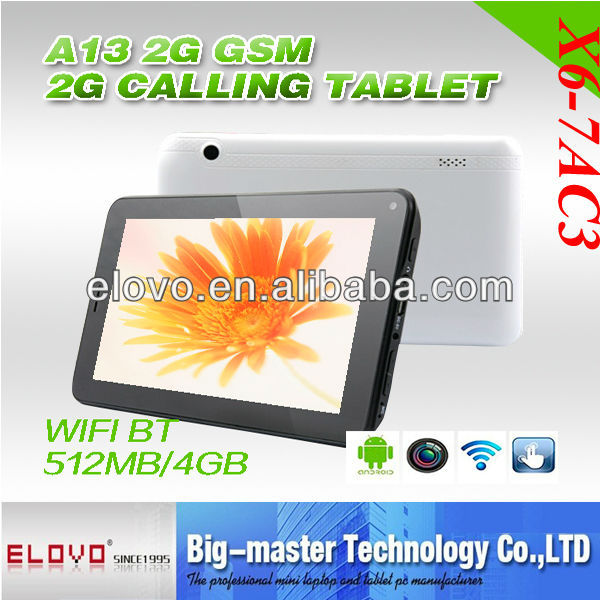 7'' lcd touch panel for android tablet pc