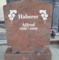 European Style Polished Finishing Nature Granite Headstone