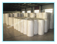 Spunlace nonwoven fabric cleaning rolls for wet wipes