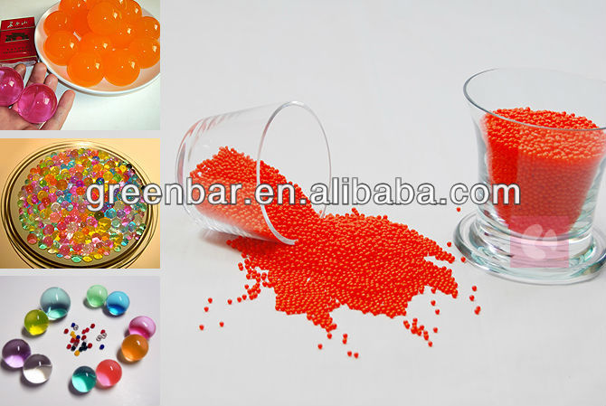 2013 newly water beads/jelly ball in 10g transparent bag for wedding table centerpieces