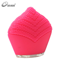 Professional Facial Skin Beauty Care Ultra Sonic Vibration Silicone Face Washing Brush