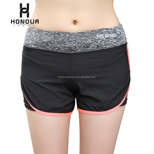 Wholesale Women Summer Fake Two Pieces Custom Athletic Sweat Tennis Fri Fit Outdoor Shorts