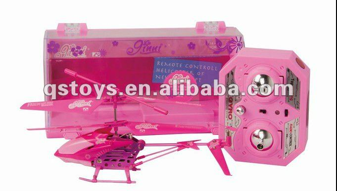 3.5ch rc helicopter/cute rc helicopter/pink rc helicopter for girls QS120307001