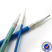(RF Coaxial Cable/ High Temperature Cable)coiled coaxial cable