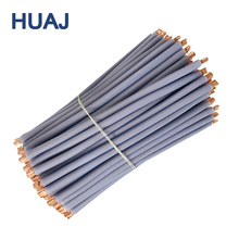 0.1mm Custom Short Pieces Silicon Elastomer Cables Ultra Thin Insulated Connecting Wire