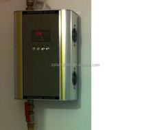 Global patent water and electric isolation electromagnetic heating boiler, water heater