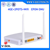 Ftth 2pots 4ge Voip Wifi Optical