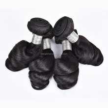 4 bundles Brazilian loose wave 8A unprocessed virgin Brazilian human hair extensions loose wave Brazilain virgin hair