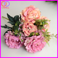 yiwu artificial rose materials for flower making