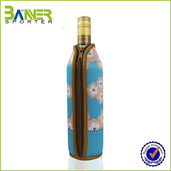 Promotional Neoprene wine tote bag