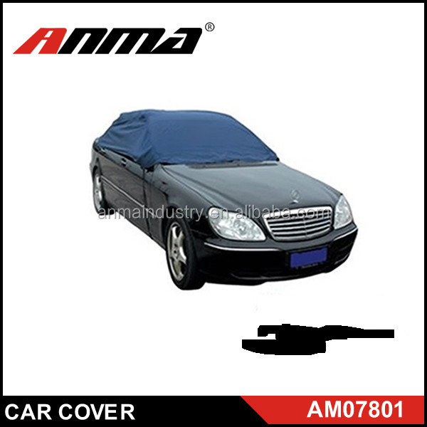 High Quality UV protection half car cover / TOP Car Cover