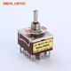 DPDT 15A 3 Way 12 Pins Screw Waterproof Mini Toggle Switch