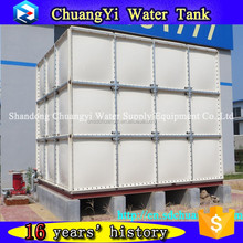 large manufacture low price agricultural smc water tank, farm combined FRP panel tank
