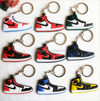 kids jordan retro key chain, jordan keychain shoes key rings,/cute sneaker keychain silicone key holder llaveros chaveiro