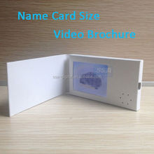 competive price video booklet lcd screen a5 format
