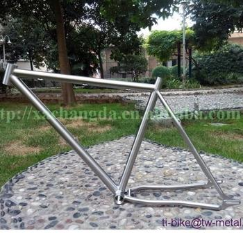 XACD made titan mtb bike frame with 44mm bigger head tube ti fat bicycle frames customized ti bike moutain bike frame 29er
