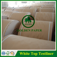 High quality 125g 140g 150g White Testliner paper in A4 Size fluting paper