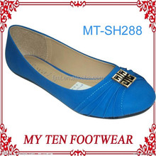 Royal Blue Bridal 2014 Flat Shoes Women Casual Summer
