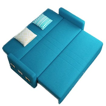 high quality multifunctional living room furniture price of folding sofa cum bed fabric
