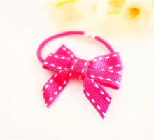 Good Quality Girl Rope Children Ponytail Holder Kids New Hairband Bow Elastic Hair Band