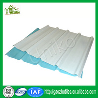impact resistance colored fiberglass skylight corrugated roof panel for build materials