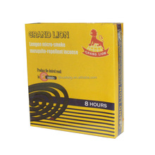 Professional manufacture 8hours black mosquito coil in Fujian China 20 years