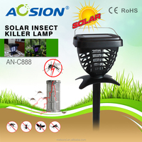 solar powered mosquito killer / bug zapper/insect trap UV Lamp