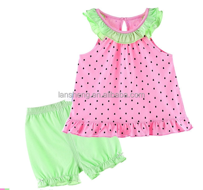 Flower Summer Baby Suit; Baby Clothes