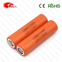 Original LG 18650 C2 3.7V 2800mah high capacity rechargeable lithium battery cell for vv mod,mechnical mod,provari from IMREN