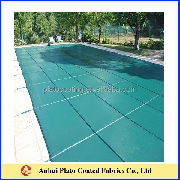 Waterproof Pvc Coated Swimming Pool Cover Fabric Buy Swimming Pool Cover Fabric Waterproof