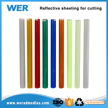 Superior reflective sheeting ink reflective for plates