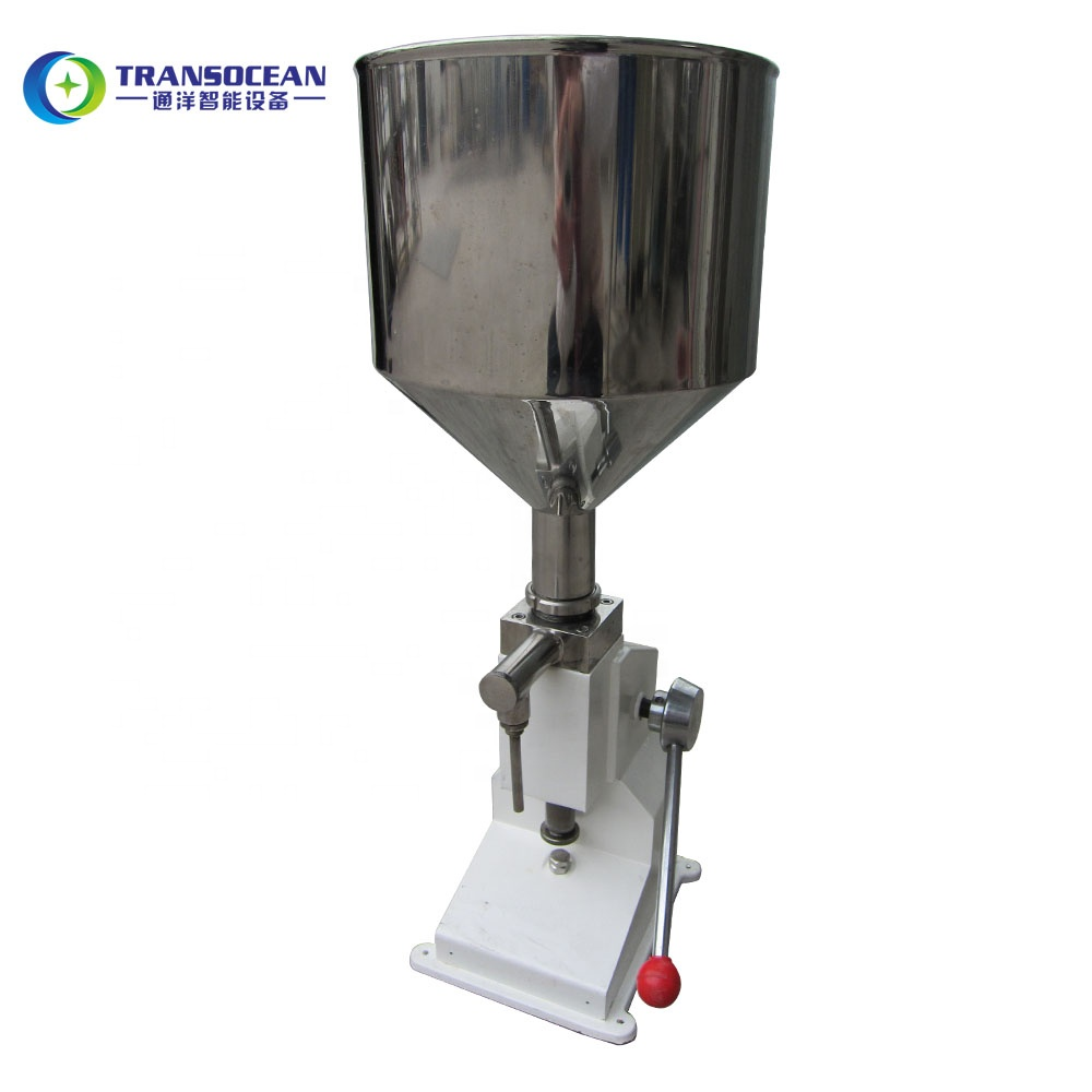 <strong>a03</strong> cosmetic ointment cream manual filling machine from all kind bottles