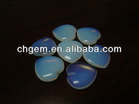 gemstone dealers Semi-precious stone Blue heart shape craft gift