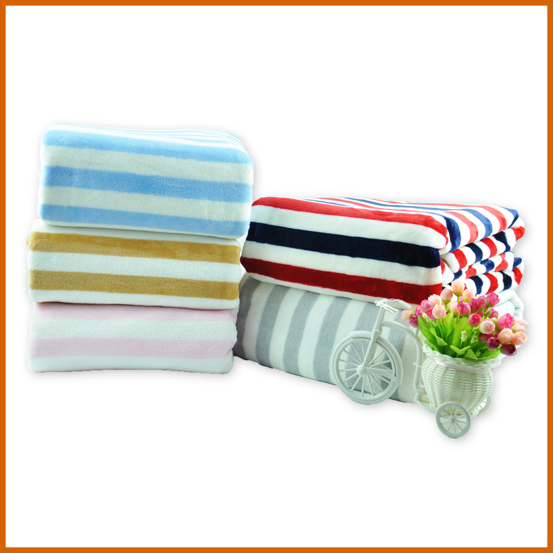 100% Polyester One Ply Printing Royal Flannel Blanket