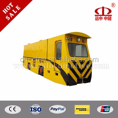 Mining mini 50t diesel traction locomotive for underground coal mine development