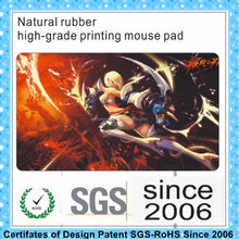 Natural rubber material do rolo de borracha do mouse pad