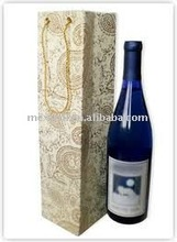 Fashion paper wine bag(bottle bag,wine carry bag)