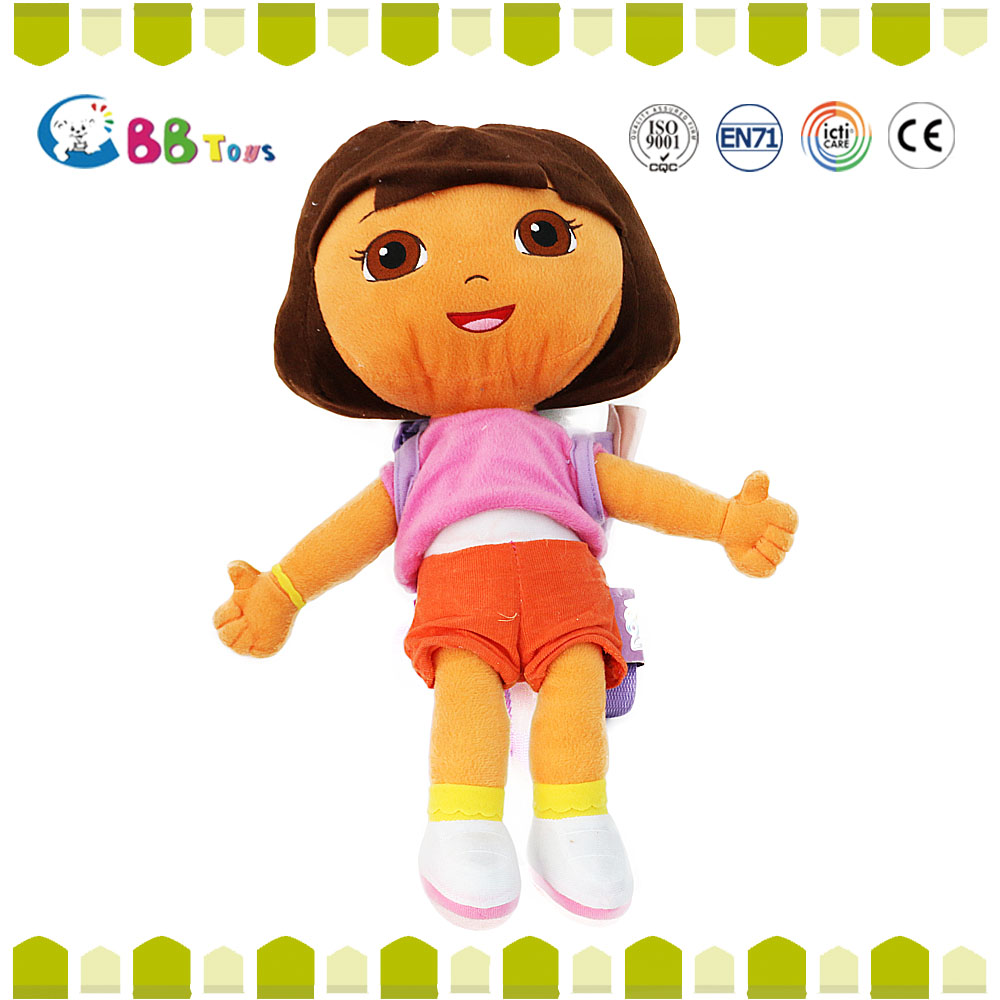 Gift small organic baby dolls toys & soft dolls toys ICTI Audited wholesale 2015