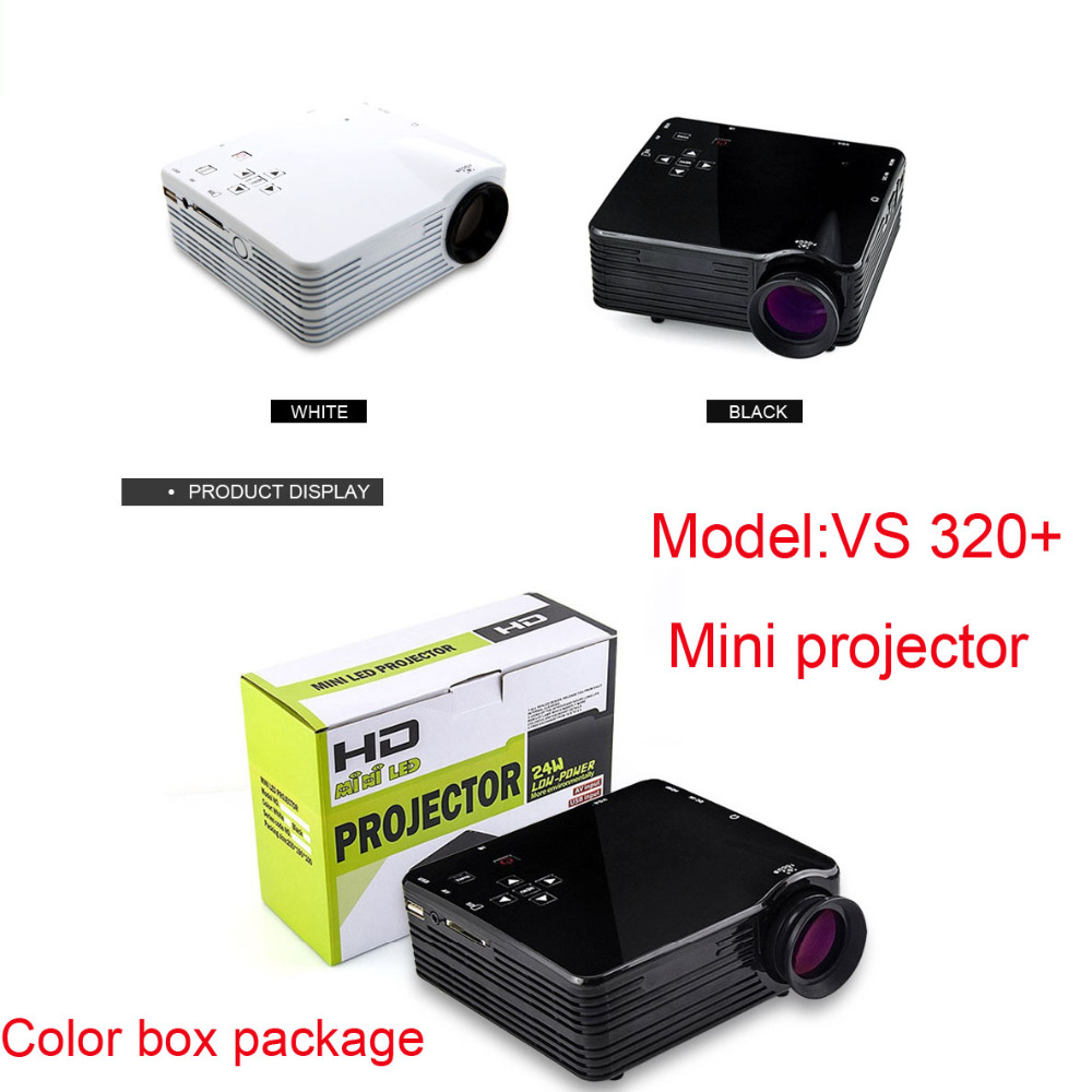 2016 Mini projector mobile phone support 1080P full hd pico projector movie TV home theater cheap projector
