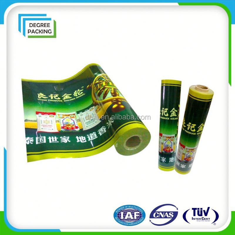High Quality Films In Roll Stock Aluminum Foil Quad-Seal Gusseted Coffee Packaging