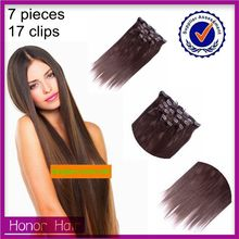 Factory Direct Wholesale Clip In Grade Original 7A Virgin Cambodia Hair Extensions Reviews