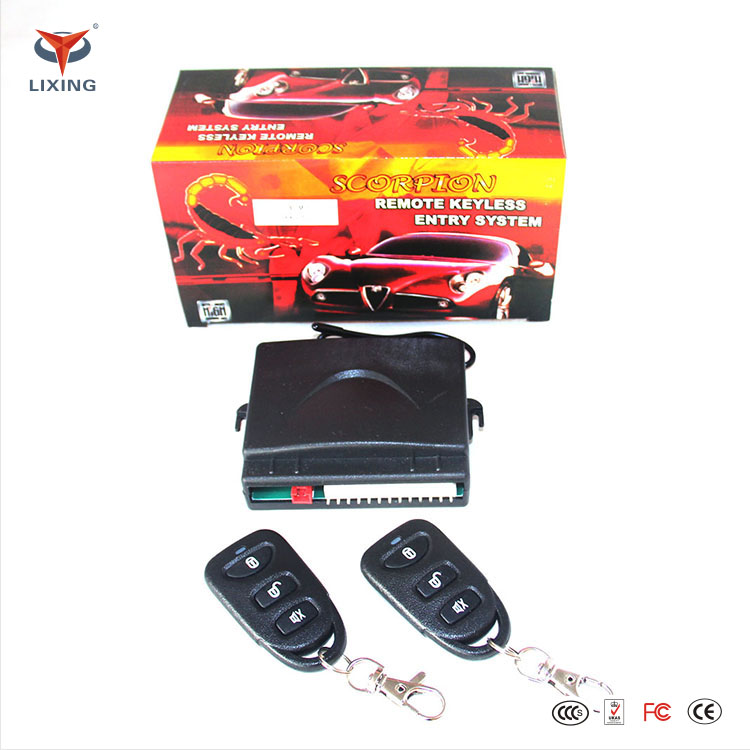 MILANO Keyless Entry System Universal Car Kit Remote Control Central Door Locking keyless entry