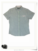 latest short sleeve shirt with one pocket design for men