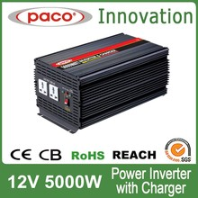 DC-AC Power Inverter with Charger 5000w 12V 230V