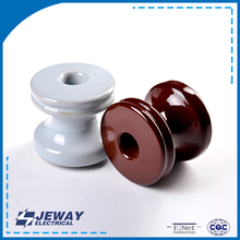 53-2 porcelain electrical high heat resistance ceramic spool insulator for line