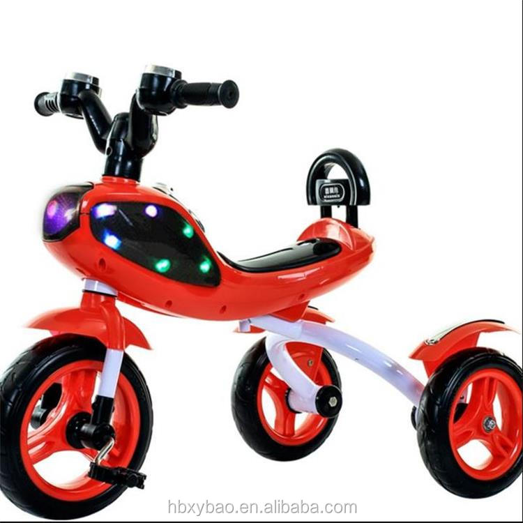 Alibaba hot sale children ride on car baby stroller tricycle baby smart trike