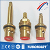 Fast open Faucet disc ceramic core angle valve handles and brass cartridges with OEM service